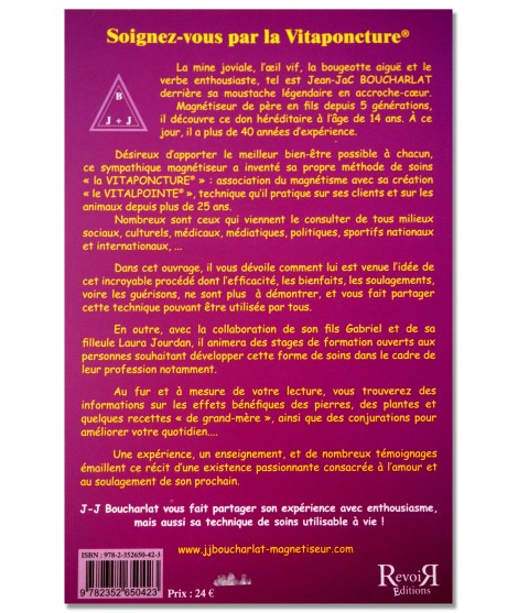 Soignez-vous par la Vitaponcture -  J.J. Boucharlat