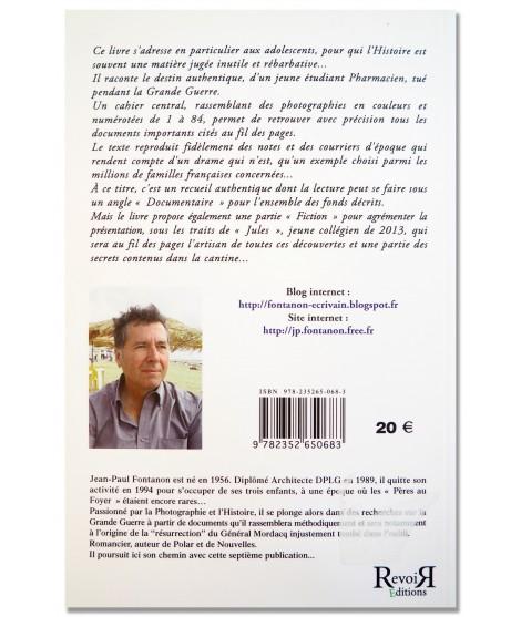 Jules et les secrets de la cantine du poilu - J.P. Fontanon