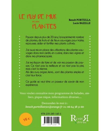 Le puy de mur et ses plantes - Benoît Porteilla Lucie Bazelle