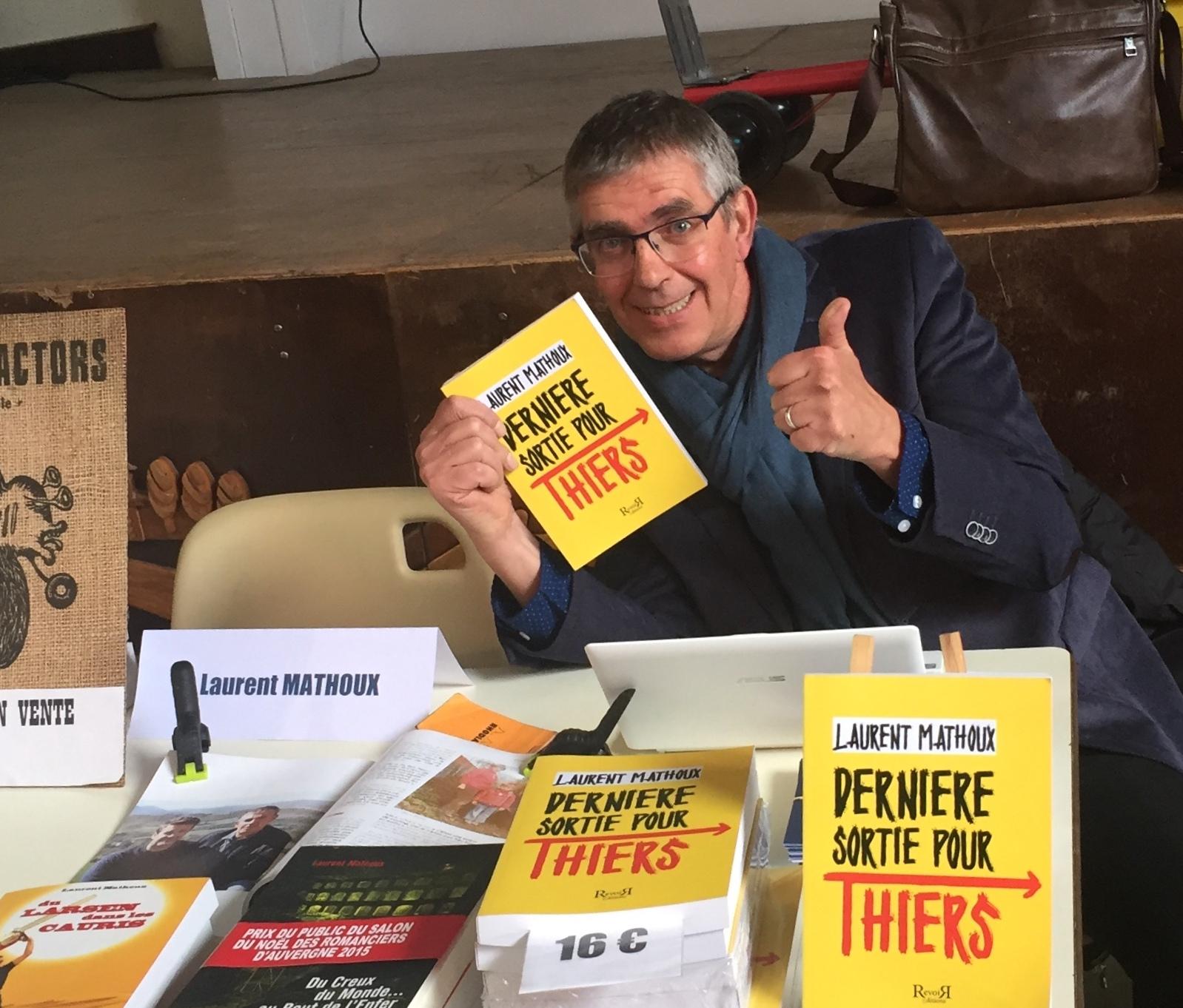 Laurent Mathoux_Dernière sortie pour Thiers