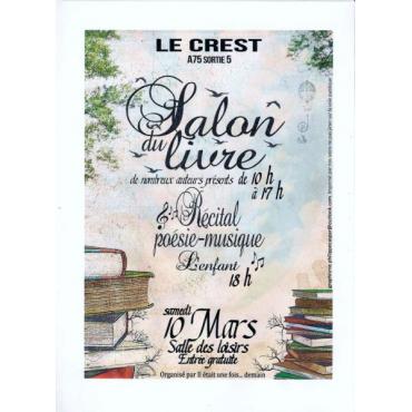 Salon du Livre au Crest - 10 mars