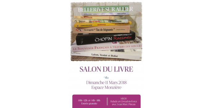 Salon de Bellerive-sur-Allier le 11 Mars 2018